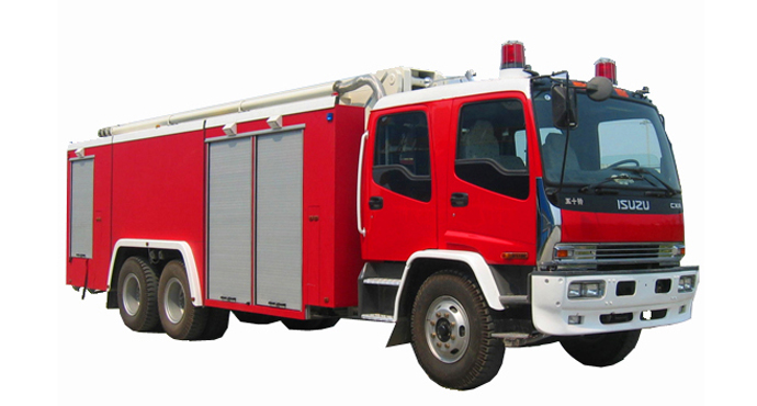 15m height Isuzu Water Tower Fire Truck for Aerial Working
