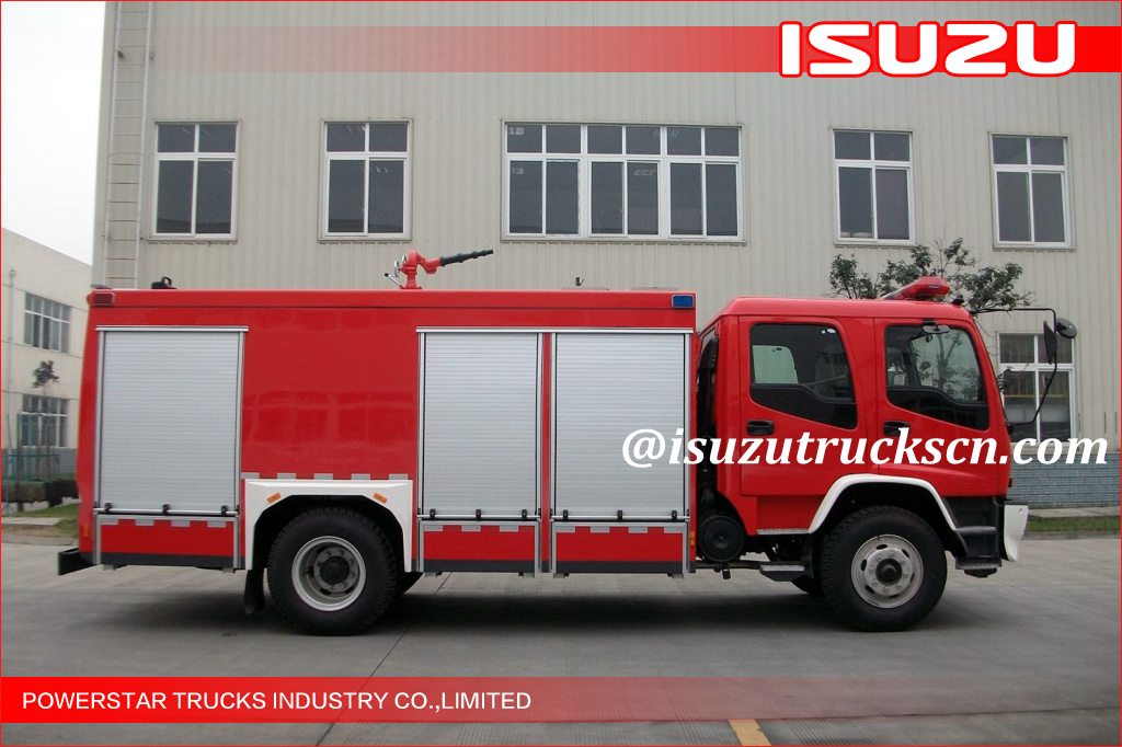 5000L Isuzu FVR FVZ FTR Chassis Water Fire Tender Vehicle