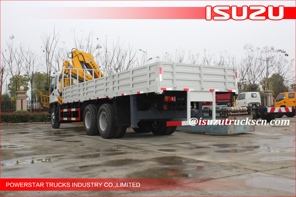 Durable Fast Hydraulic Truck Mounted Crane For Transporting Materials