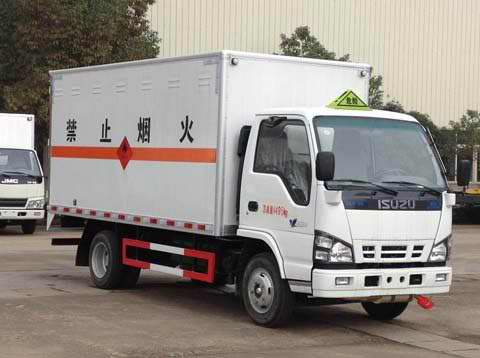 Isuzu Light Cargo Truck with Van BOX (2 -10 tons)