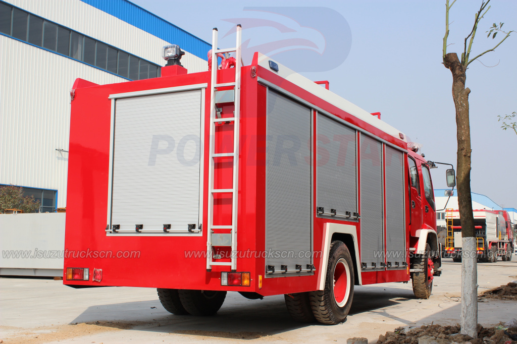 2016 New FTR ISUZU 190hp Foam fire truck for sale