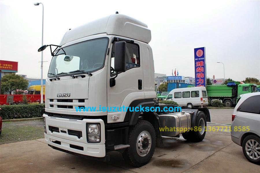 4x2 350HP GXR ISUZU Tractor Head Trucks