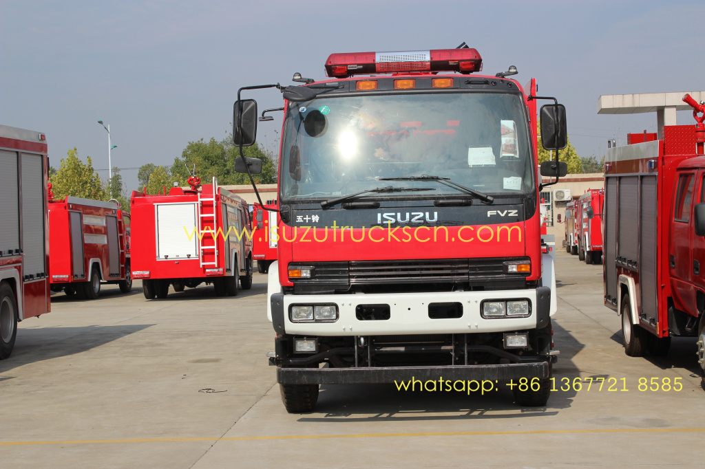 15,000L Foam Water Fire Truck ISUZU FVZ