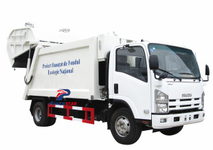 Japan quality Isuzu rubbish compactor trucks