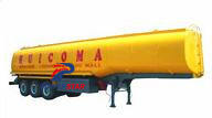 Customized fuel oil tanker semi trailer made in china