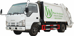 Compression Garbage Truck Isuzu 4متر مكعب