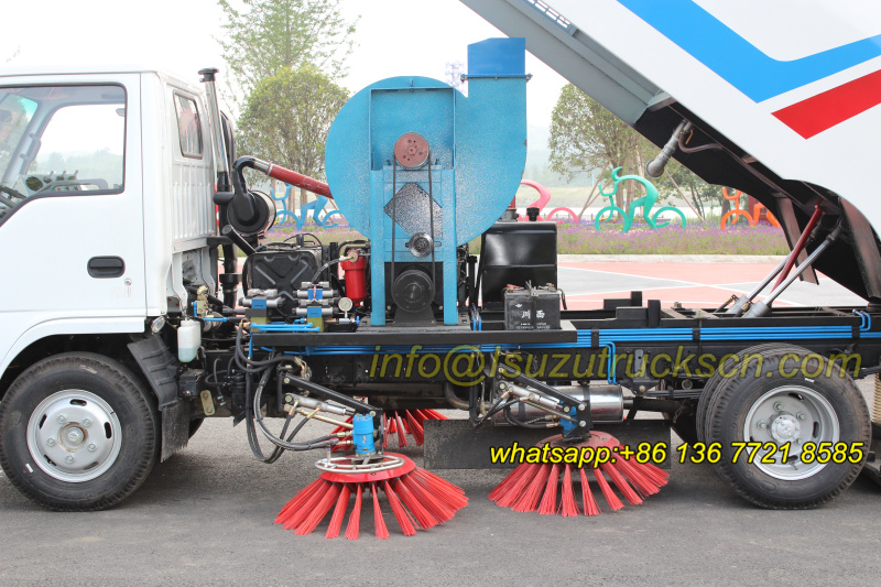 road sweeper dongfeng trucks