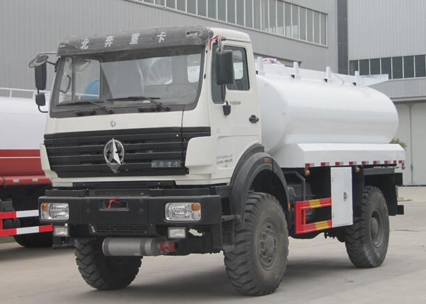 Customer made miltary Beiben Off road Fuel delivery tank trucks