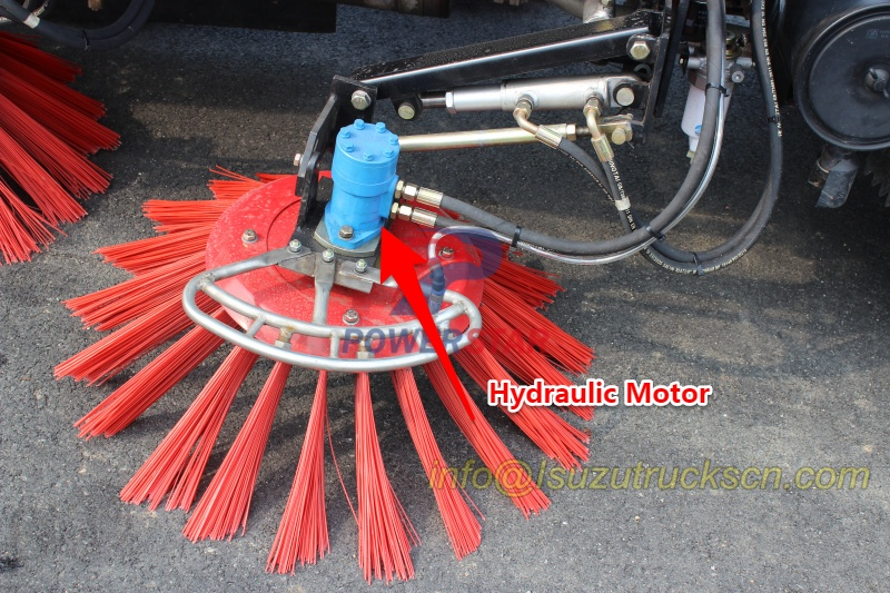 hydraulic motor for road sweeper truck