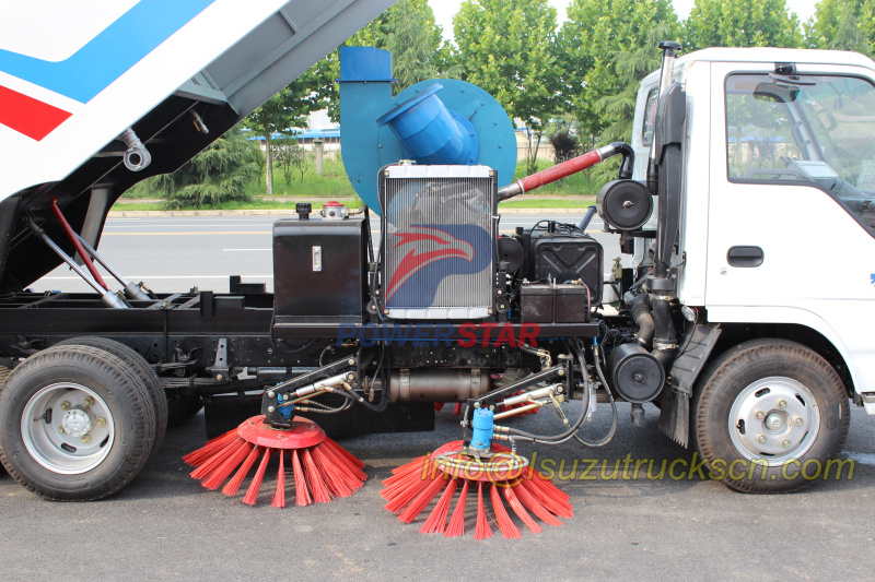 Italy Hydraulic Motor for road sweeper truck pictures