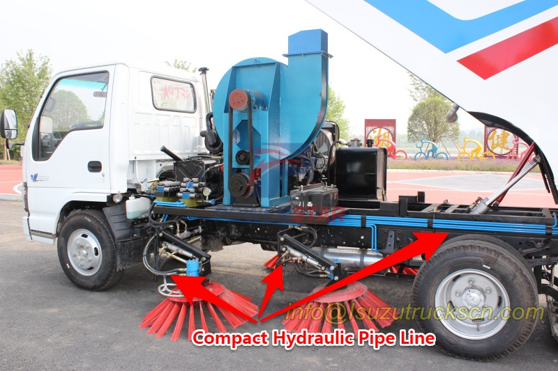 Hydraulic Pipe line for road sweeper super structure