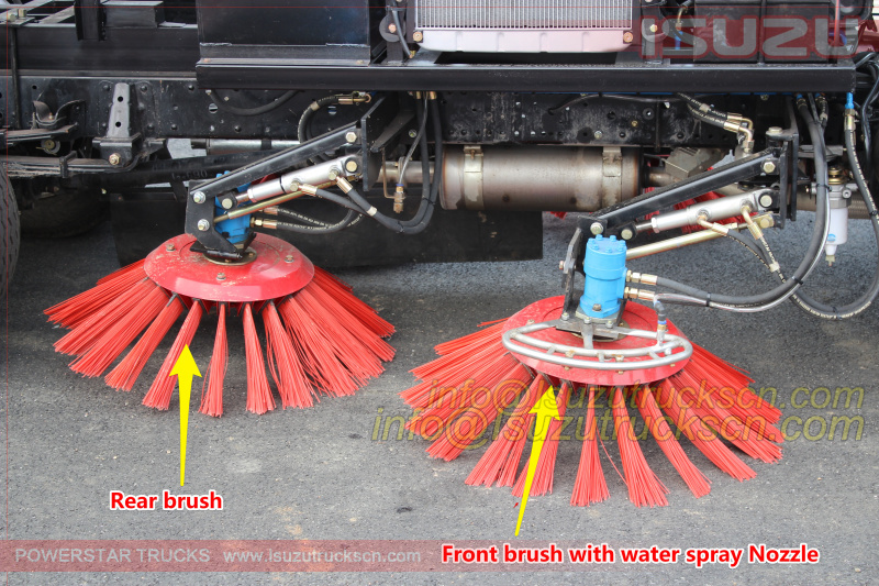 Brush disc structure for road sweeper truck pictures