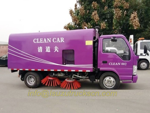 road clean car Isuzu