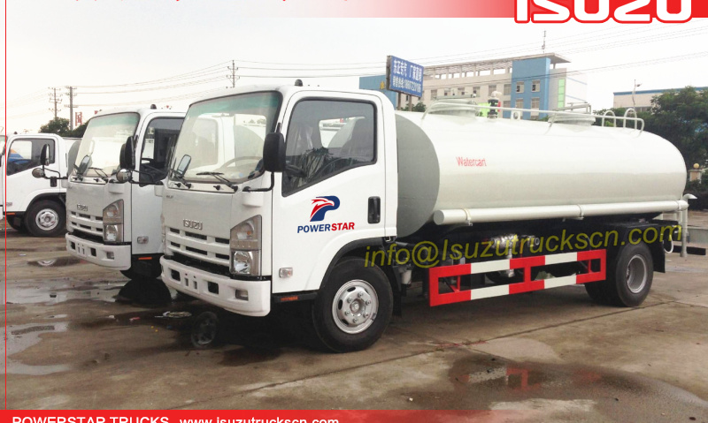 ELF Water cart ISUZU water carrying trucks 10,000L