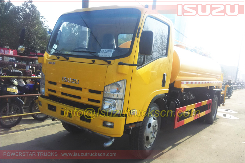 Water Tank Trucks ISUZU ELF Water Bowser 10,000L