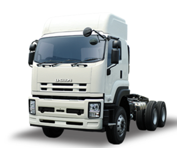 Tractor unit Isuzu prime mover vehicle