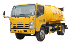 Sewage truck Isuzu vacuum suction trucks