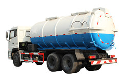 16,000L vacuum jetting truck with vacuum pump Isuzu brand trucks