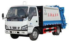 Powerstar garbage compactor trucks for sale