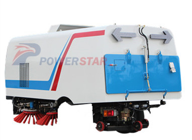 Powerstar trucks brand Road Sweeper assembly for sale