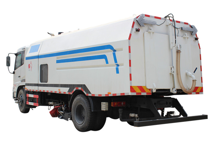 China supplier for Dust cleaner road sweeper truck