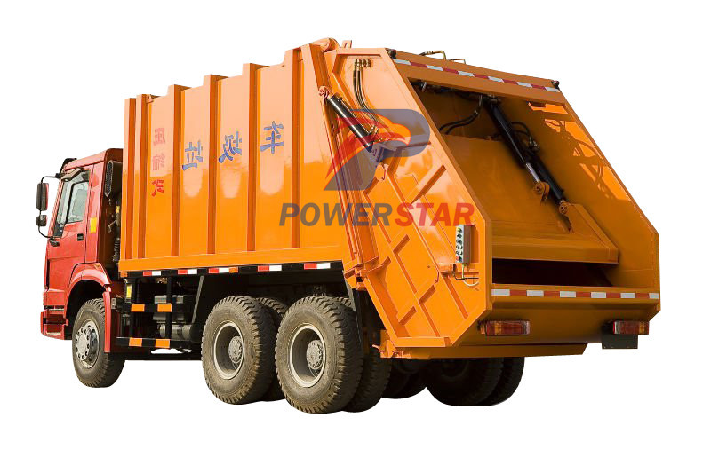 sanitation garbage compactor manufacturer china
