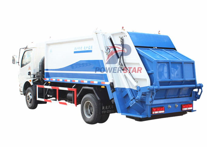 Rear Loaded Garbage Truck