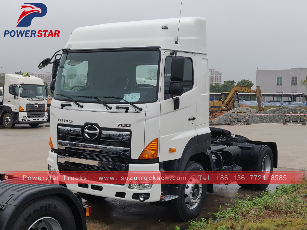 4x2 Japan HINO700 tractor head prime mover tractor truck for sale