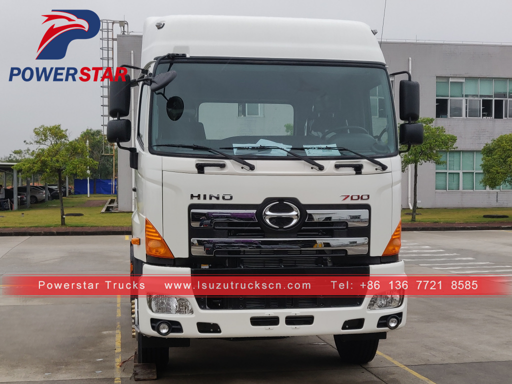 Myanmar market Japan HINO700 6x4 trailer haulage tractor truck for sale