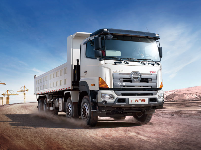 Construction Heavy duty Hino tipper trucks for sale