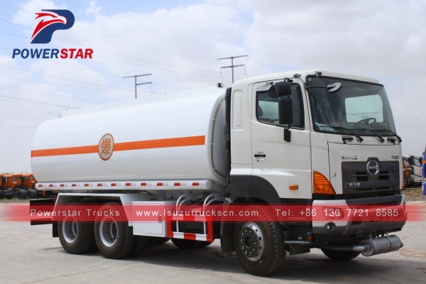 Japan GAC هينو700 Fuel Oil Delivery Tanker Truck 20,000L for sale