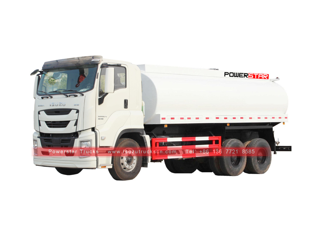 ISUZU GIGA Water Delivery Tanker Trucks 20,000L for sale