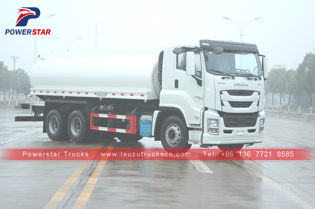 Japan ISUZU GIGA Water Bowser Delivery Tanker Sprinkler Truck