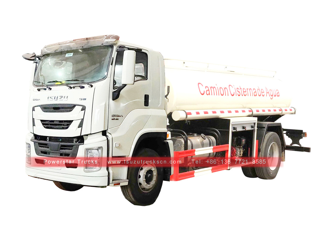 Customized ISUZU GIGA Water Transport Tanker Vehicle for sale