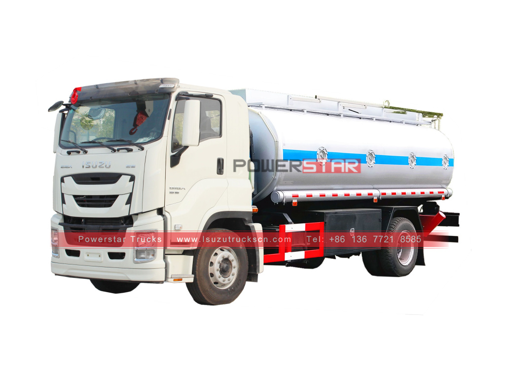 ISUZU GIGA Oil Transportation Tank trucks