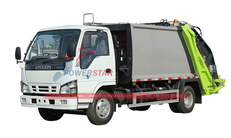 ISUZU Rear Loaded Garbage Truck factory