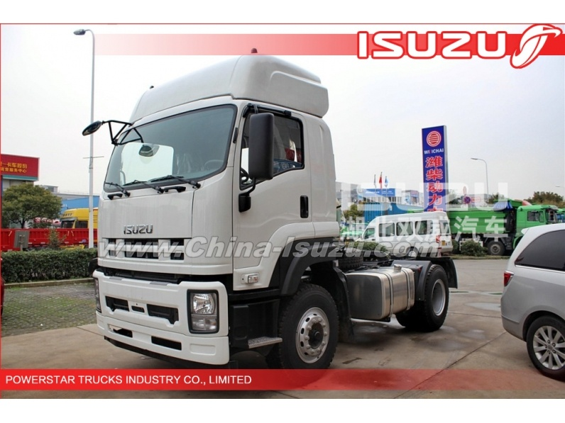 Japanese 4x2 350hp ISUZU VC46 Prime Mover Truck Tractor Head supplier
