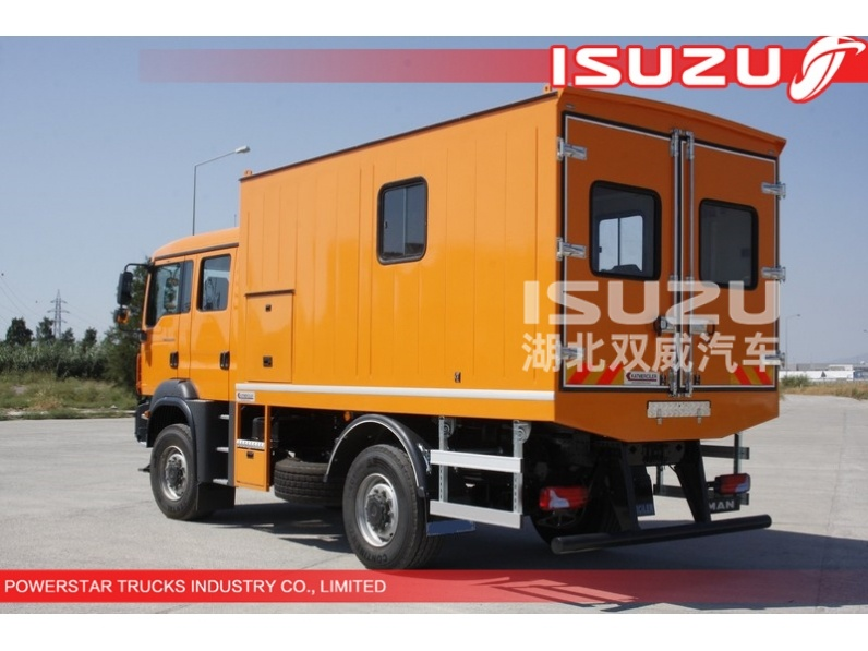 Japanese Isuzu brand Mobile Workshop Trucks for sale