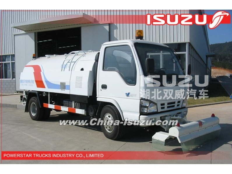 quality 5000L high pressure manufacture sewer washing truck ISUZU