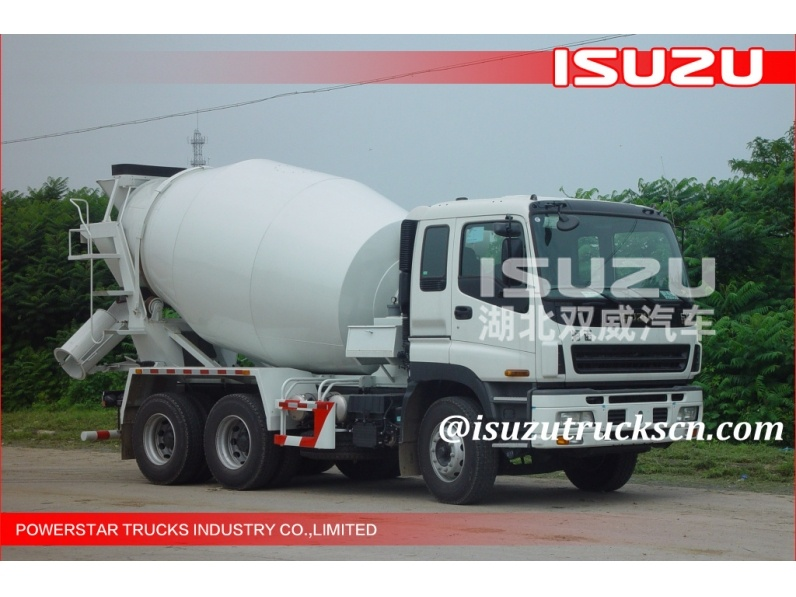 Manufacturer 8cbm 10wheels Isuzu Brand Read Mix Concrete Truck for sale
