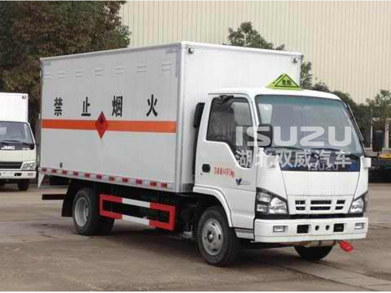 6 Ton Isuzu chassis with Space Cab cargo truck