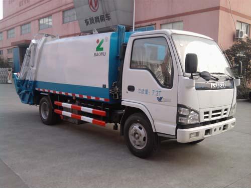 الساخنة بيع 3 طن 5 طن النفايات المضغوطة ايسوزو شاحنة القمامة الضاغطة للبيع في الصين