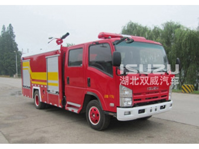 Isuzu 4X2 4000L fire truck for sale