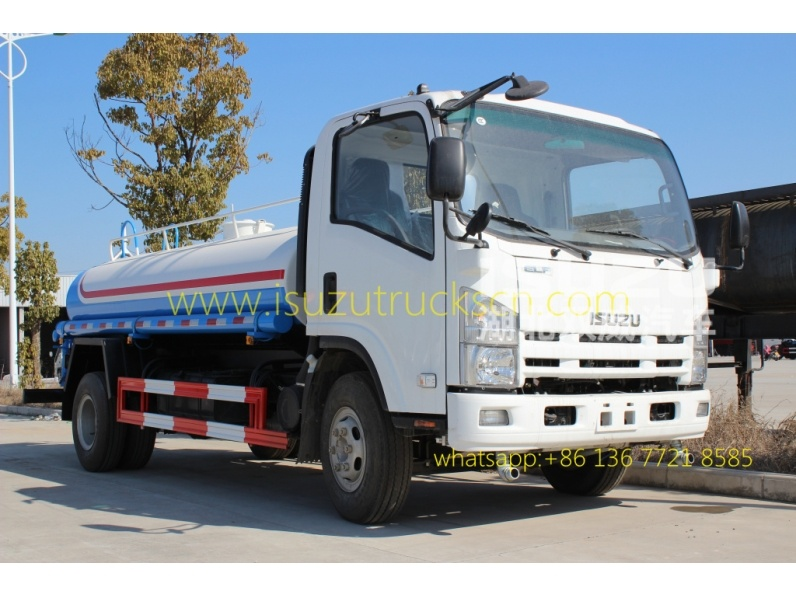 Myanmar price Water Bowser Truck Water Carrier Truck Water Spray Truck