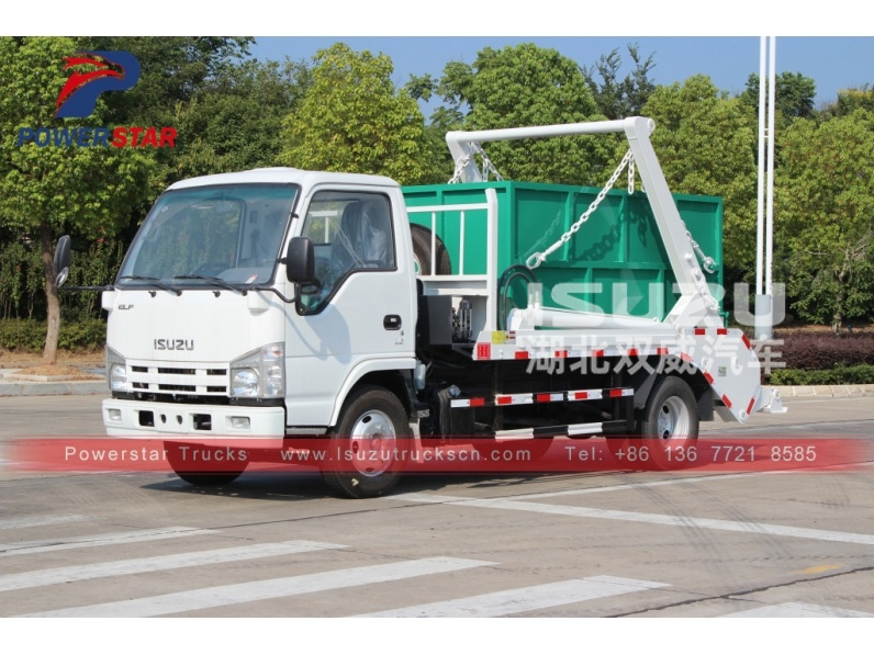 Arm roll truck Isuzu multi skip lorry trucks