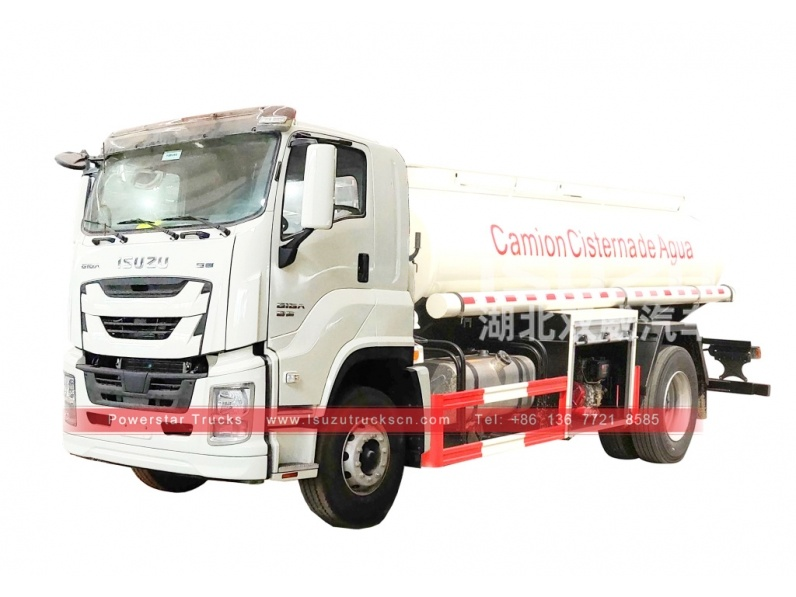 Japan ISUZU GIGA Water transport trucks for sale