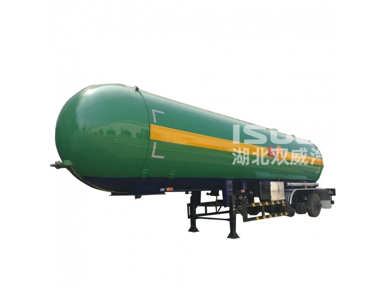 China best LPG tank semi trailer manufacturer