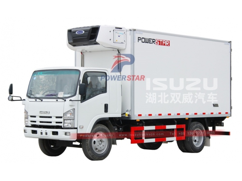 4X2 ISUZU 10 Ton Refrigerated truck with cooling system Freezer