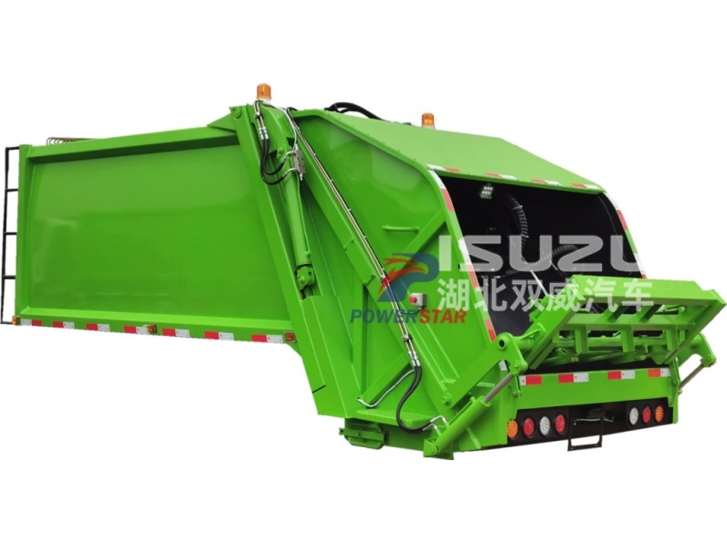 Isuzu 4X2 Truck Refuse Compactor Body for sale