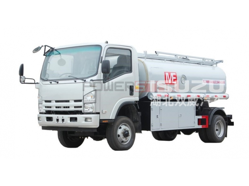 ISUZU NPR ELF 4X4 Off road Diesel Oil Tanker Fuel Tank Truck
